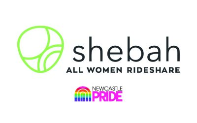 shebah All Women Rideshare has partnered with Newcastle Pride