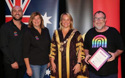 Community Group of the Year Awarded to Newcastle Pride