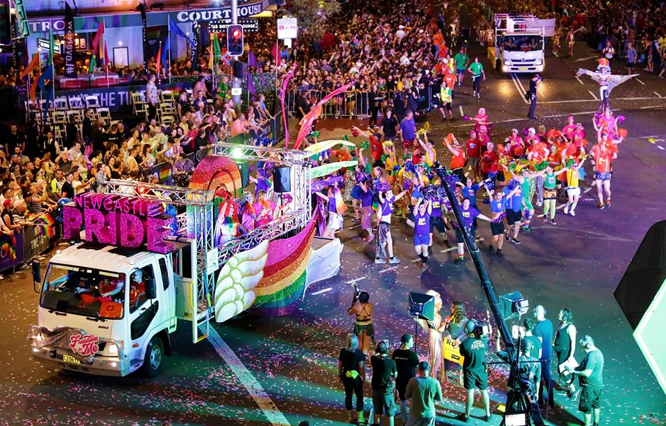 Newcastle Pride At Mardi Gras 2020 – What Matters