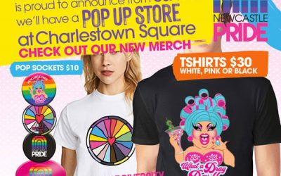 NEWCASTLE PRIDE – POP UP SHOP CHARLESTOWN SQUARE