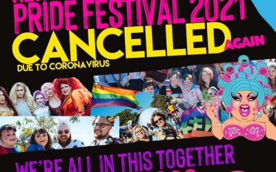 NEWCASTLE PRIDE – THIS IS ME! 2021 FESTIVAL – CANCELLATION